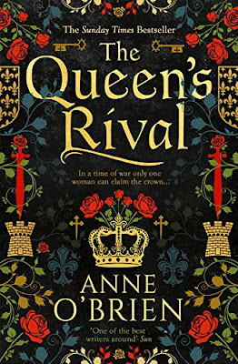 The Queen's Rival by Anne O'Brien book cover