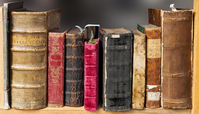 old books dusty hd