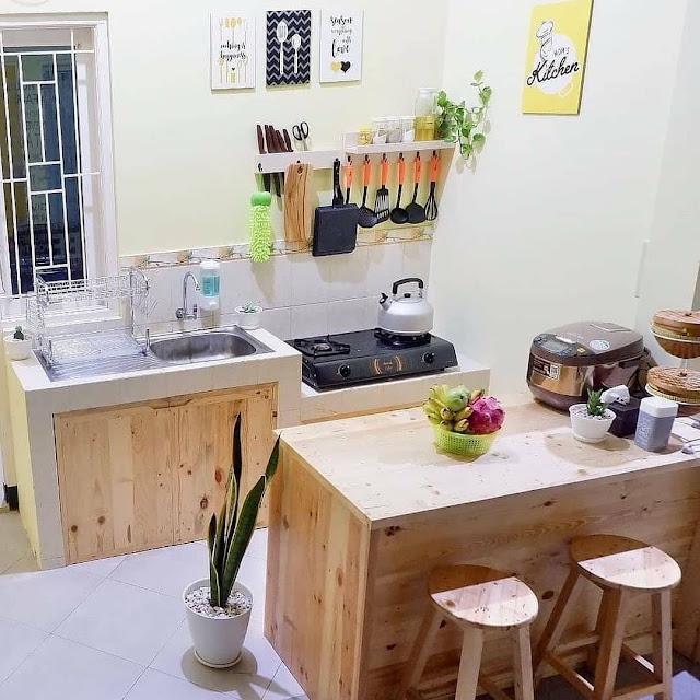 Desain Dapur Sederhana Unik Terbaru