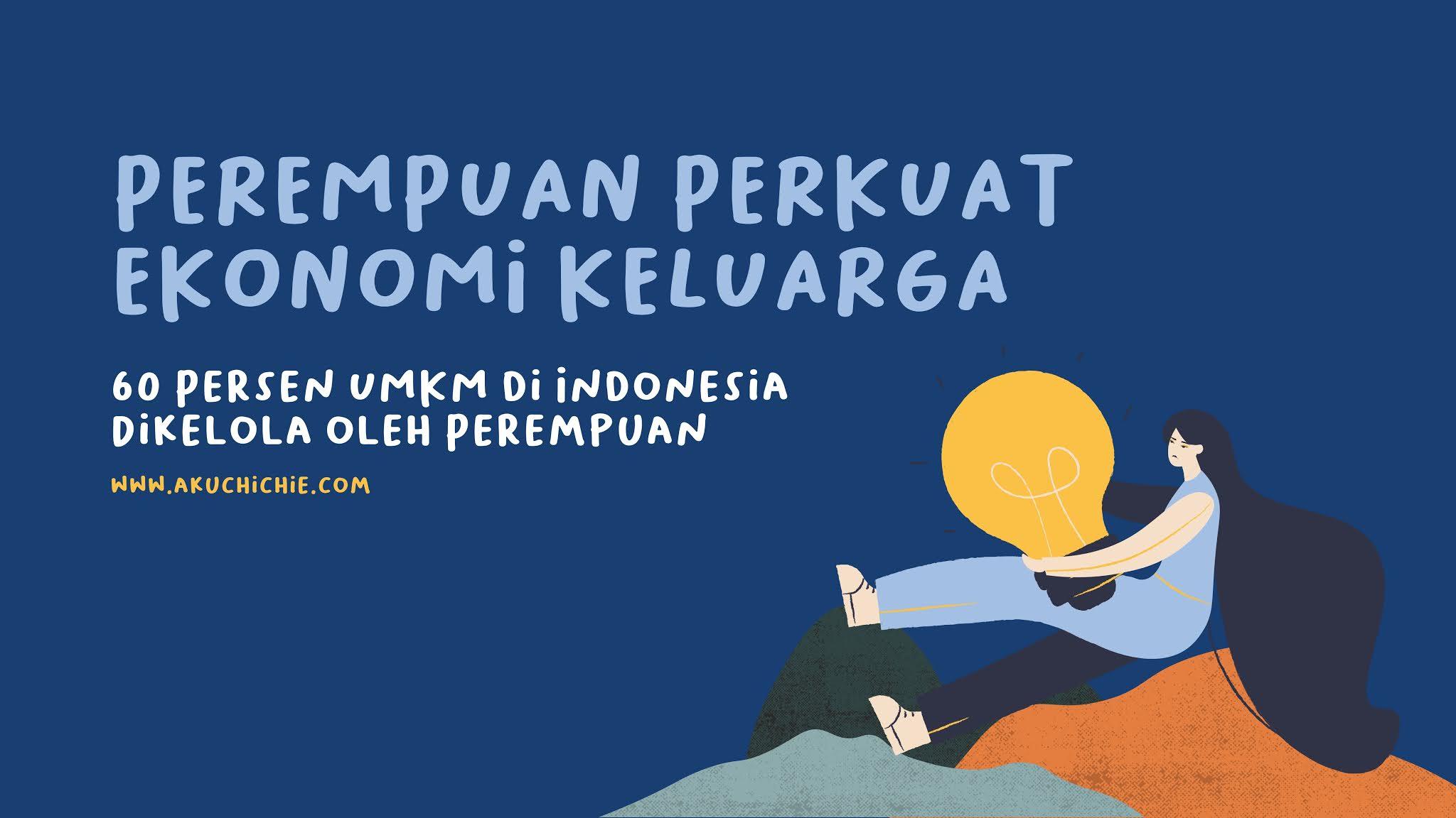 pelaku umkm di indonesia 60% perempuan