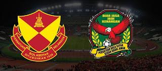 Separuh Masa Pertama Final Piala Malaysia,Kedah VS  Selangor