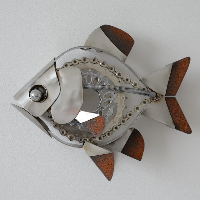 Ed Hill Metal Art - Fish