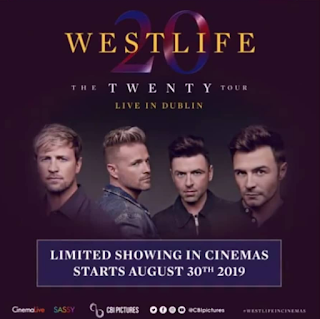 Film Westlife: The Twenty Tour Live in Dublin 2019 [Bioskop]