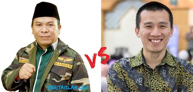 Ustadz Felix Siauw vs Politisi PKB Luqman Hakim gara-gara istri Gusdur soal Jilbab
