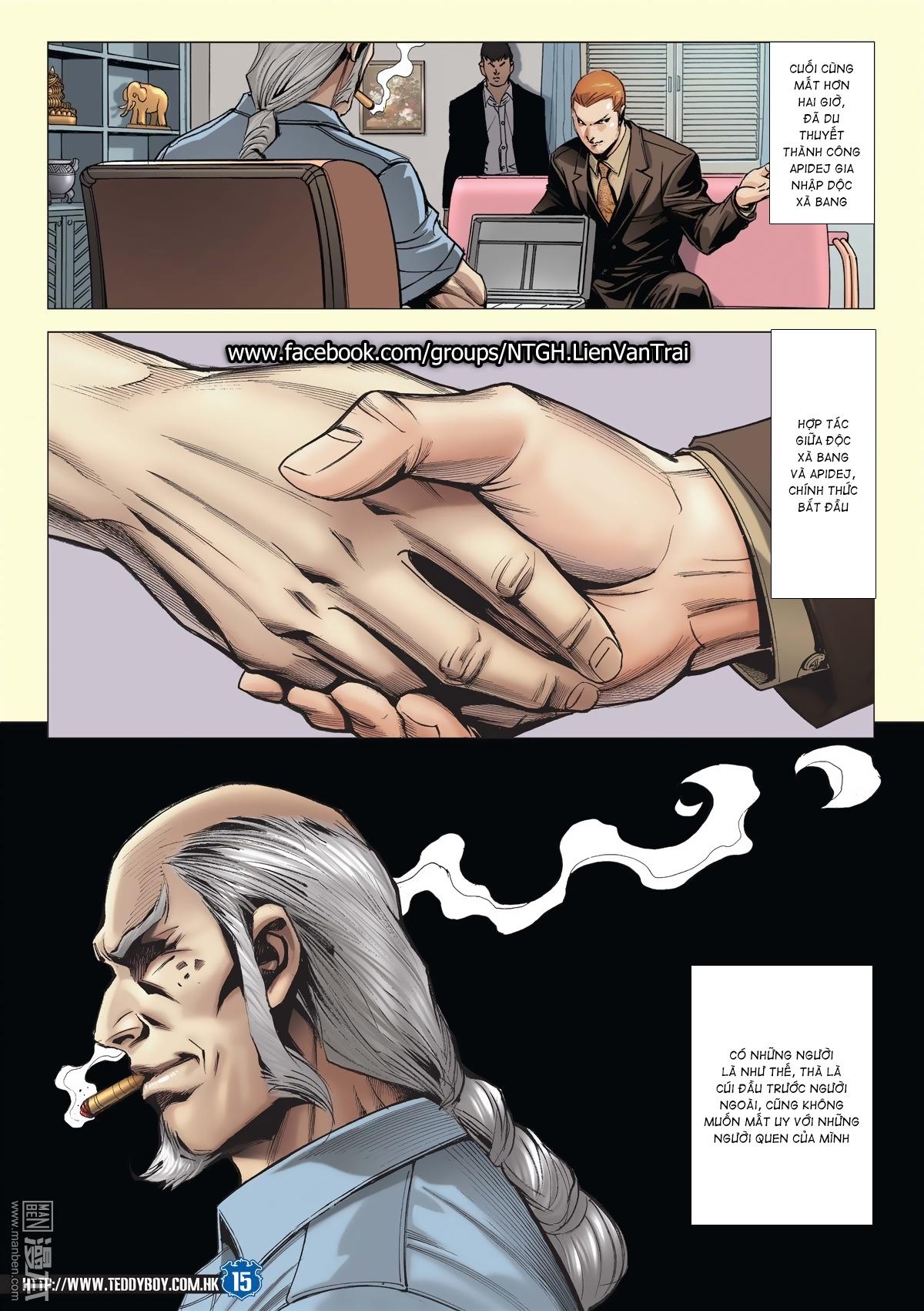 Người Trong Giang Hồ chapter 2026: khí diệm tông sư trang 14