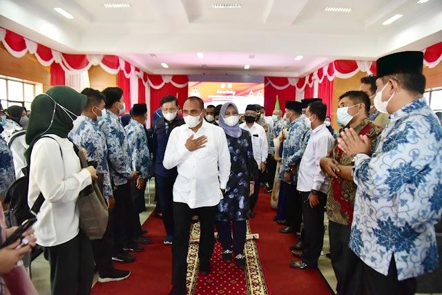 Gubernur Edy Rahmayadi Wacanakan  Lelang Jabatan Kepala Sekolah