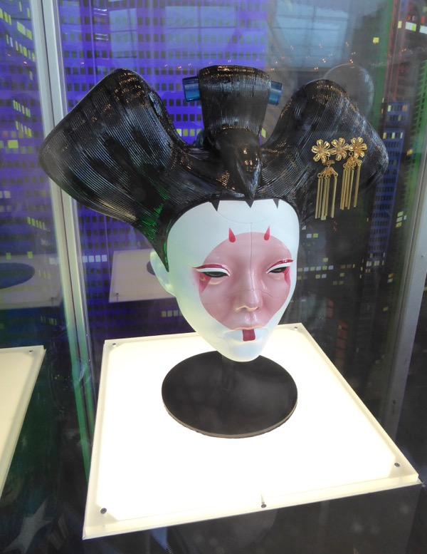 Animatronic Geisha head Ghost in the Shell