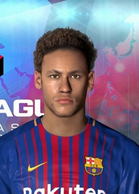 Neymar New Hair & Tattoo PES 2017