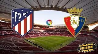 Атлетико Мадрид - Осасуна смотреть онлайн бесплатно 14 декабря 2019 прямая трансляция в 23:00 МСК.