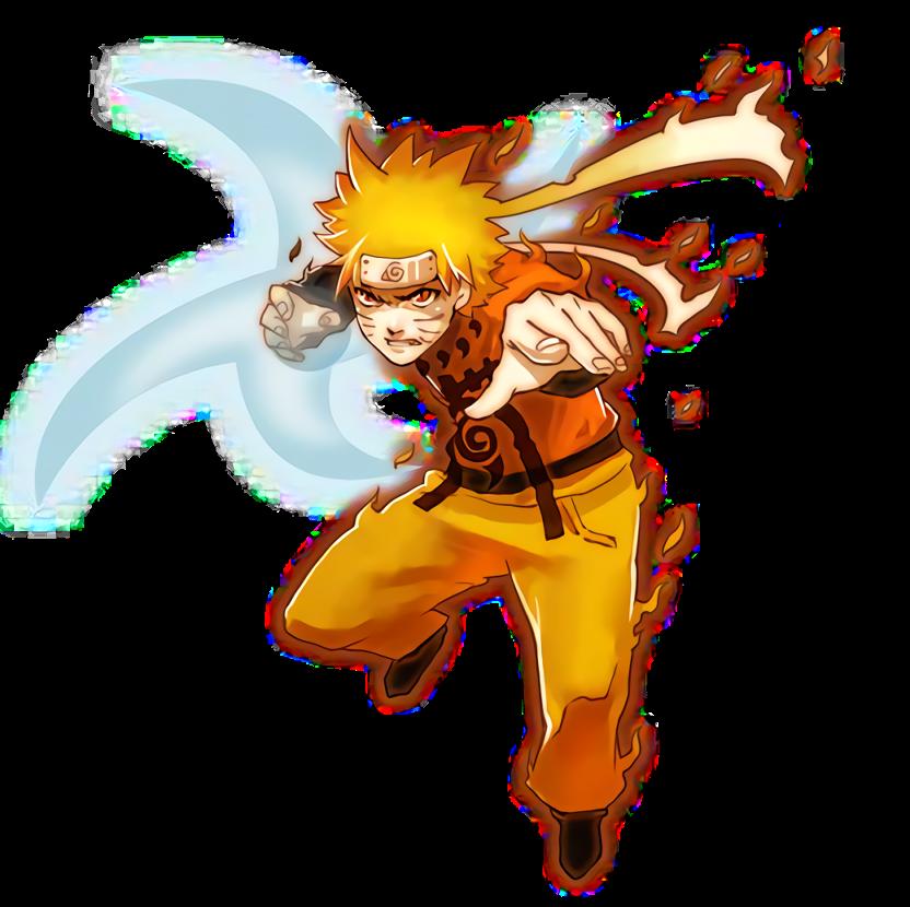 Naruto (Nine tail) render [Pockie Ninja] by  Maxiuchiha22