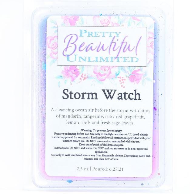Pretty Beautiful Unlimited Storm Watch Wax Melt