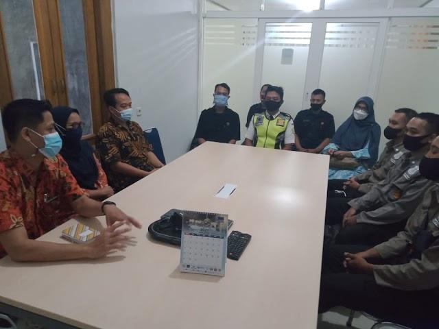 Serah Terima & Kerjasama Jasa Satpam di SMK Budi Utomo Cilacap