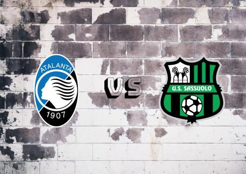 Atalanta vs Sassuolo  Resumen