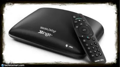 Available To Existing Customers Tata Sky Binge+ Sets-Top Box With Rs. 1000 Cashback