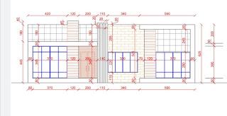 مقاسات تنفيذية تفصيلية للتصميم