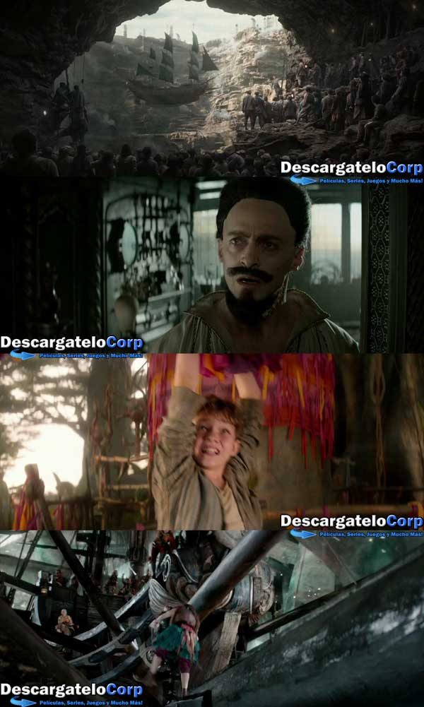 Pan Viaje a Nunca Jamas HD 720p Latino