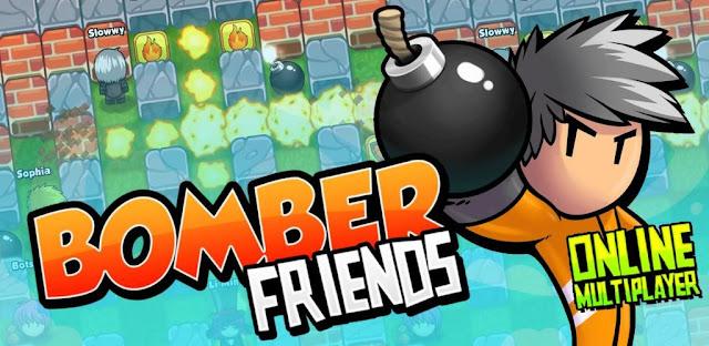 تحميل لعبة Bomber Friends مهكرة للاندرويد