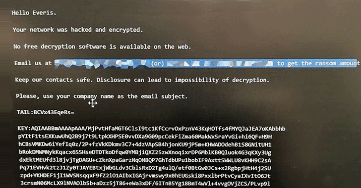everis ransomware attack