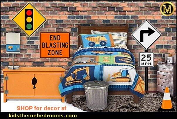 construction bedroom decor construction bedroom ideas work trucks bedding dump truck bedding construction room decor