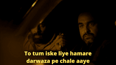 To tum iske liye hamare darwaza pe chale aaye | Mirzapur Meme Templates