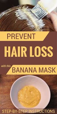 PREVENT HAIR LOSS WITH THIS BANANA MASK. STEP-BY-STEP INSTRUCTIONS