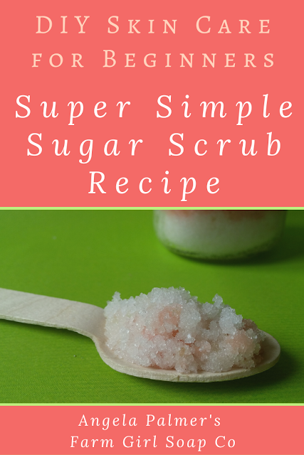 Learn how to make an easy DIY sugar scrub recipe for beginners. Start with this super simple base, then customize however you like (I've got all the info on how to do that too!) Let's get crafting, friend!