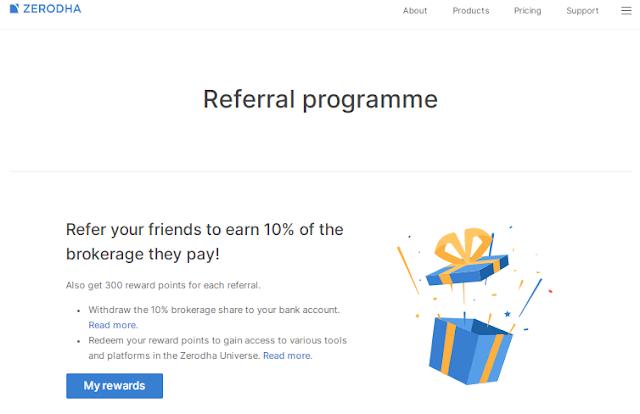 Zerodha Referral Programme