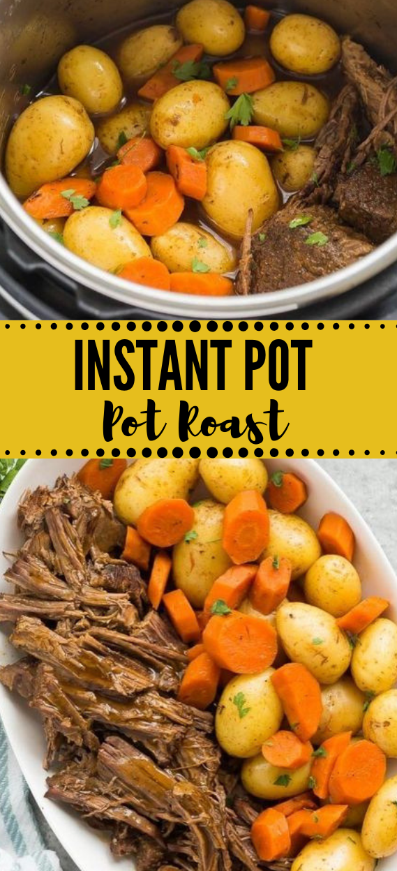 INSTANT POT POT ROAST RECIPE #vegetarian #breakfast #salad #healthydinner #vegan