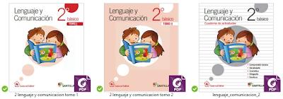 Lenguaje y Comunicación - Tomo I - Tomo II y Cuaderno de Actividades - 2° de educación primaria.