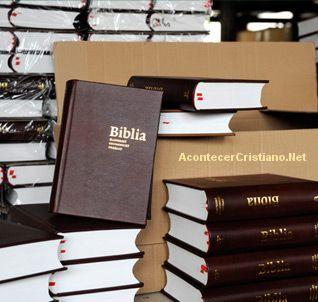 Distribución de Biblias en el mundo aumenta