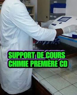 Télécharger support de cours & exercices chimie 1ère C et D