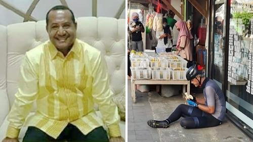 Komentari Foto Ganjar Pranowo, Tokoh Papua: Pencitraan Lagi