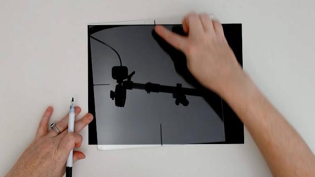 adhesive vinyl on glass, wet method, layering vinyl, oracal 651, transfer paper, adhesive vinyl