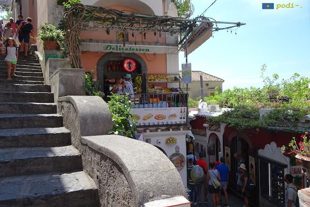 Positano, Costiera Amalfitana (delicatessen)