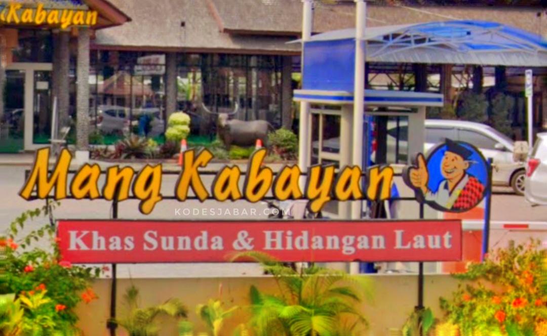 Rumah Makan Mang Kabayan, Tempat Kuliner Khas Sunda dan Hidangan Laut di Bandung