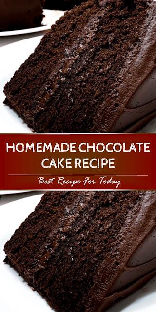 Amazing Homemade Chocolate Cake Recipe