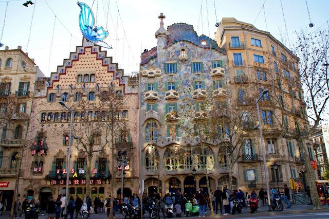 Alcune delle case Moderniste più note di Barcellona