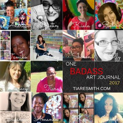 http://tiaresmith.com/workshops/one-badass-art-journal/