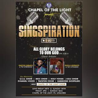 Chapel Choir Singspiration