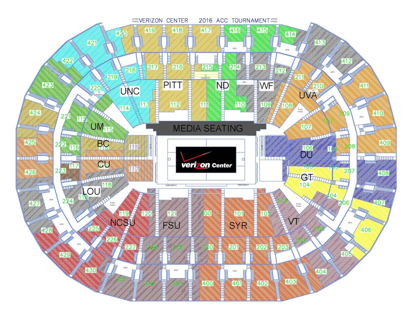 verizon center map with Acc Tournament 2016 on T a Bay Times Forum 2 also Amenities further 398587574 further File Mariucci Arena besides 201.