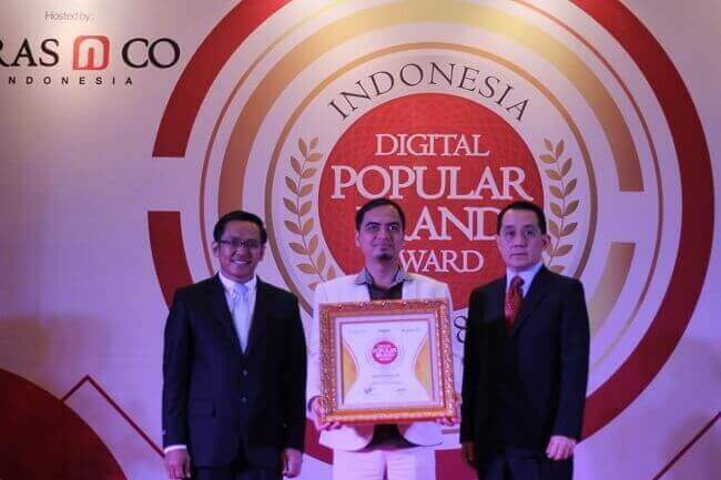 Green Angelica Meraih Penghargaan Indonesia Digital Popular Brand Award 2018