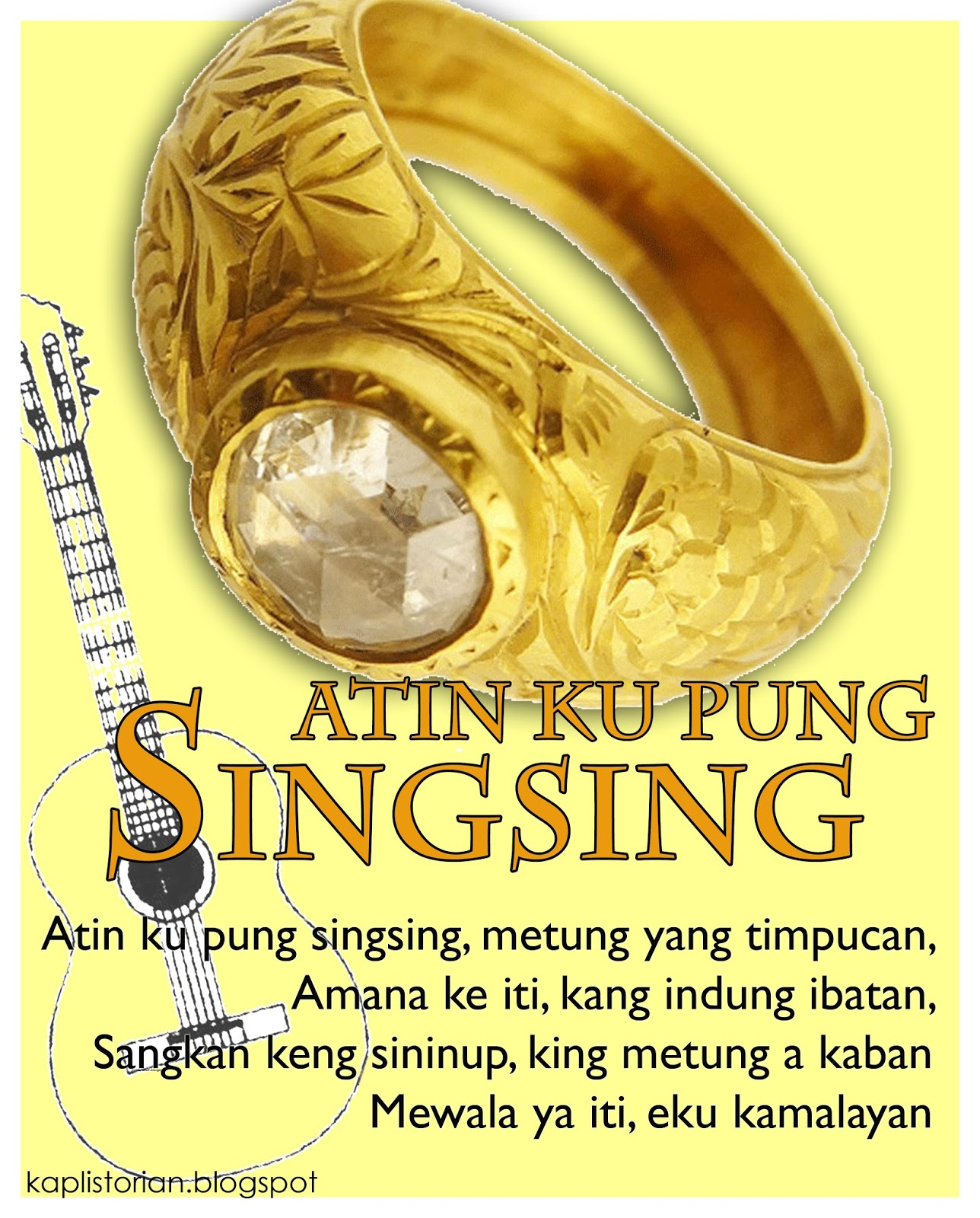 Pung historical background atin singsing cu Sinukwan Festival