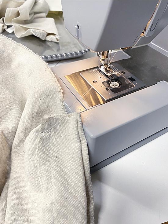 sewing drop cloth fabric