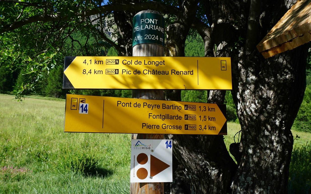 Lariane-signpost