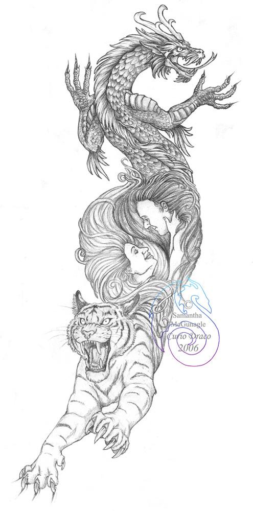 All FUN 143: Dragon Tiger Tattoo