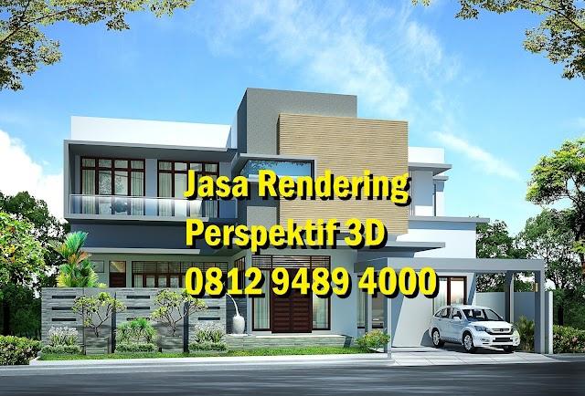 Jasa Gambar 3D Perspektif Via Email