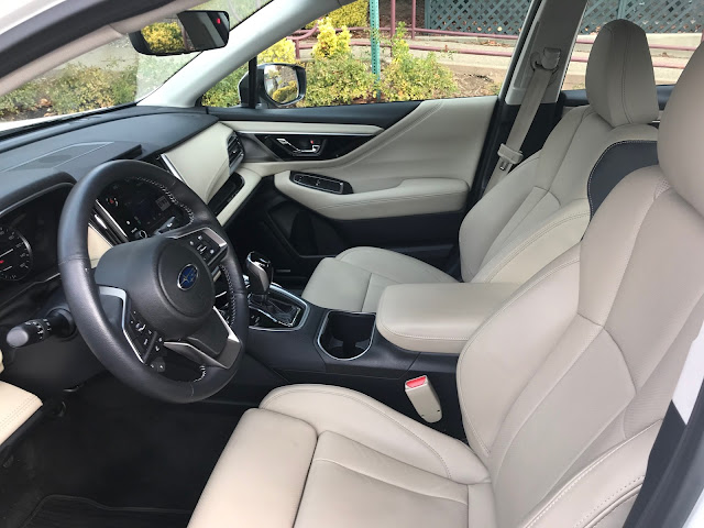 Interior view of 2020 Subaru Legacy Limited