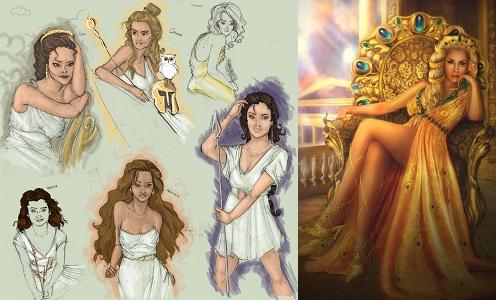 Yunan Mitolojisi - Tanrıçaları Hakkında