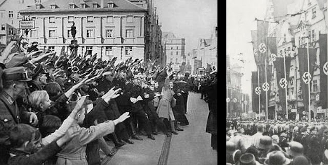 Hitler in Augsburg