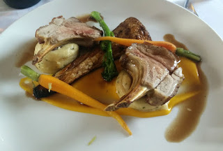 Lamb for main course, as usual
